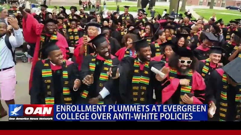 Now in America, black racist criminals determine that non-blacks cannot go to collge. Enrollment Plummets at Evergreen College Over Anti-White Policies