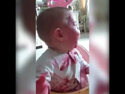 Baby is really confused