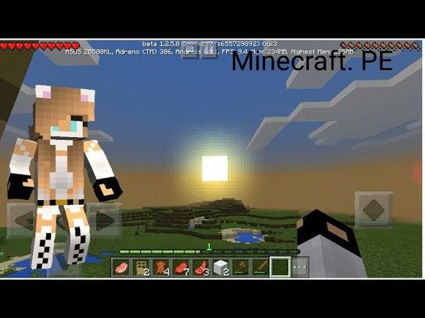 Minecraft. PE. выживание1