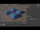 Как преобразовать несколько объектов с помощью оси определенного объекта
