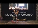 Ataca y La Alemana Musicality Choreography Workshop to Prince Royce