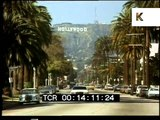 Late 1980s Los Angeles, Cars, Rodeo Drive, Hollywood, 35mm Archive Footage