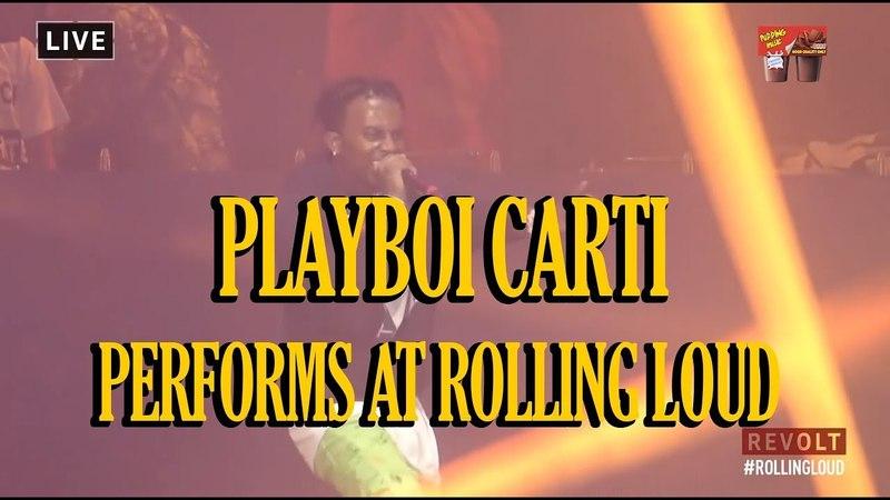 Playboi Carti Rolling Loud Miami 2018 FULL LIVE SET TRACKLIST
