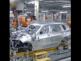 Производственная линия BMW