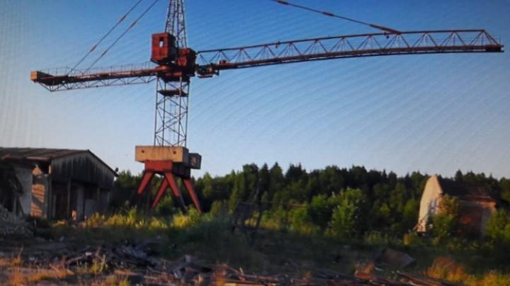 Томича подозревают в краже 1,5 тонн металла с башенного крана
