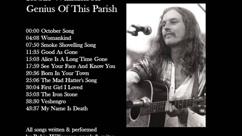 Robin Williamson - Genius Of This Parish