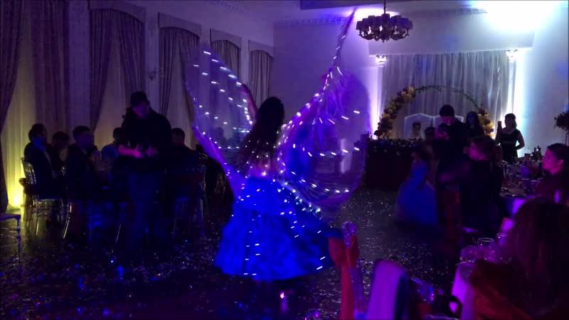 Гарем светодиодное танцевальное шоу Harem light dance show