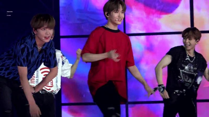[fancam] 180802 NCT 127 - Touch (WinWin ver.) @ Korea Music Festival 2018