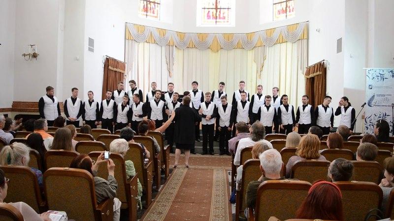 Народный Академический мужской хор АТ ЮУрГУ - Во деревне то было в Ольховке, Live 12.05.2018