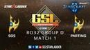2019 GSL Season 1 Ro32 Group D Match 1 sOs P vs PartinG P