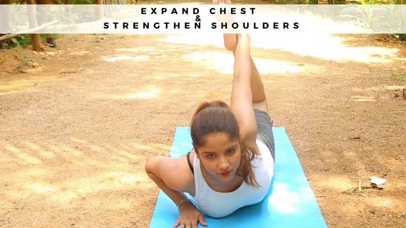 Expand Chest and Strengthen Shoulders with Simple Yoga | Yoga for Flexibility