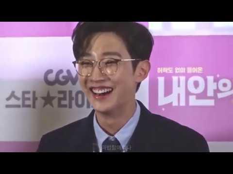 20180107 영화 '내안의 그놈' 라이브톡 1편 Focus on 진영 - 소감, 언론 리뷰, QA, 스틸컷토크