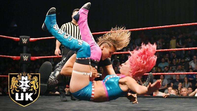 NXT UK Women's Champion Rhea Ripley vs. Candy Floss: NXT UK, Dec. 5, 2018