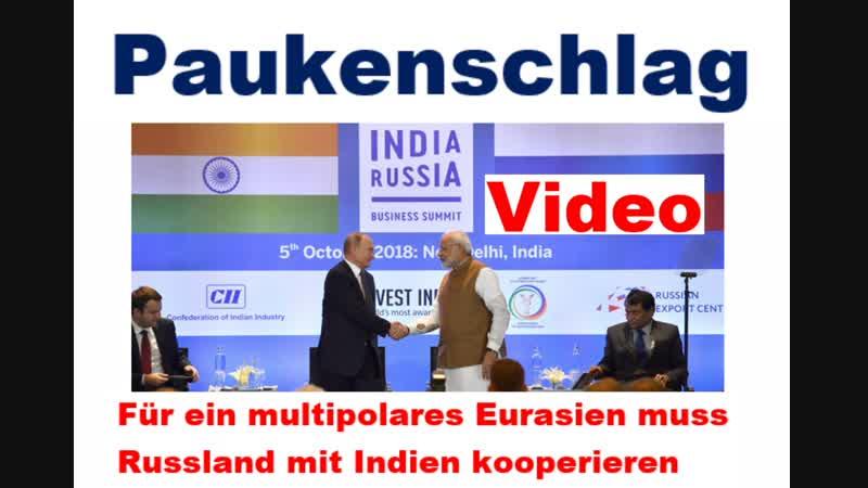 Herzliche Geste Indischer Premier Modi und Putin begrüßen sich in Neu-Delhi mit Umarmung