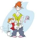 Жила была идеальная мама. А потом у неё появились дети…