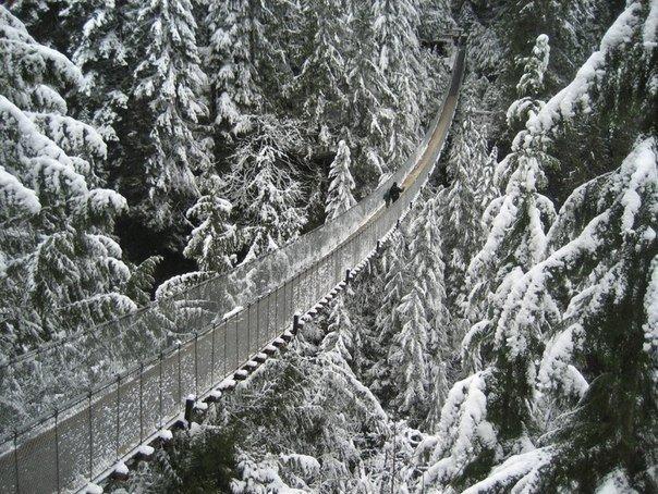 Висячий мост Капилано (Ванкувер, Канада)