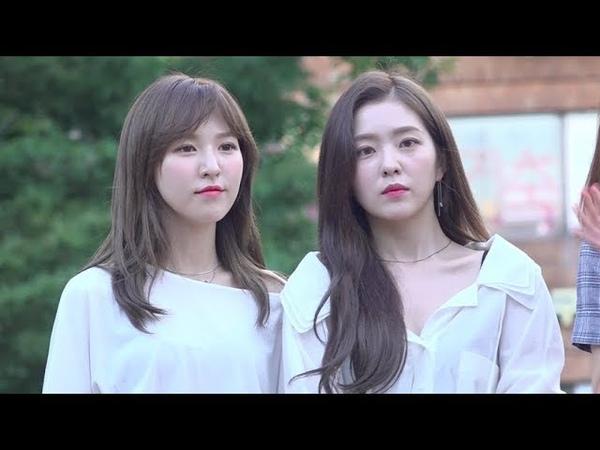레드벨벳(Red Velvet) 웬디-아이린, 청순 미모의 정석 (뮤직뱅크 출근길)