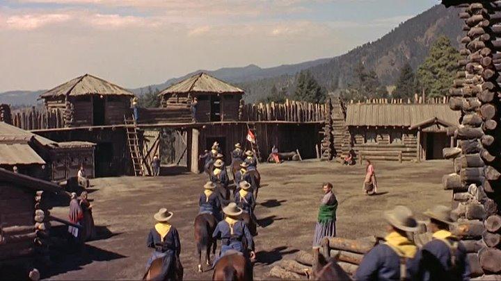 Стрелки Юбочного форта (1957) - Вестерн