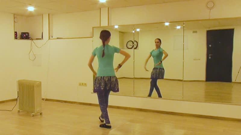 ATS® Fast Moves Re Shamka @ танцевальный трайбл словарь