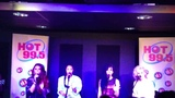 Little Mix singing Wings at Hot 99.5