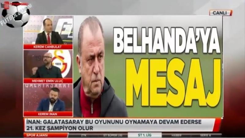 Galatasaray Spor Ajansı - Mehmet Emin Uluç ve Kerem İnan Tartışması 5 NİSAN 2018