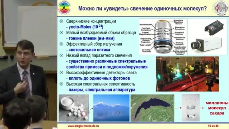 11 Андрей Наумов Наноскопия или как увидеть одну молекулу