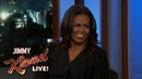 Jimmy Kimmel's FULL INTERVIEW with Michelle Obama