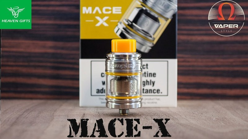 Ample Mace X Subohm Tank 2ml from heavengifts.com | Достойно