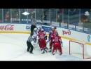 Драка в хоккее Локомотив vs СКА