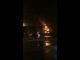 В Раменском загорелся кафе-бар Ранчо