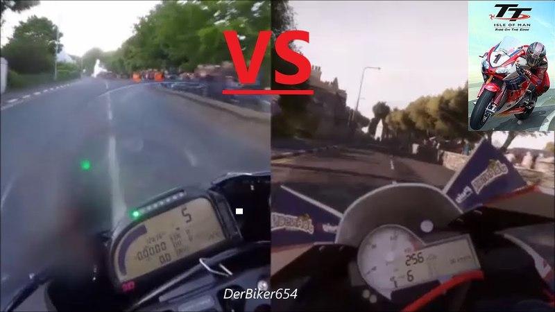 Isle of Man TT - Reality VS. Game