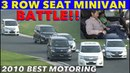 Best MOTORing 2010 3 Row Seat Minivan Battle at Tsukuba Circuit