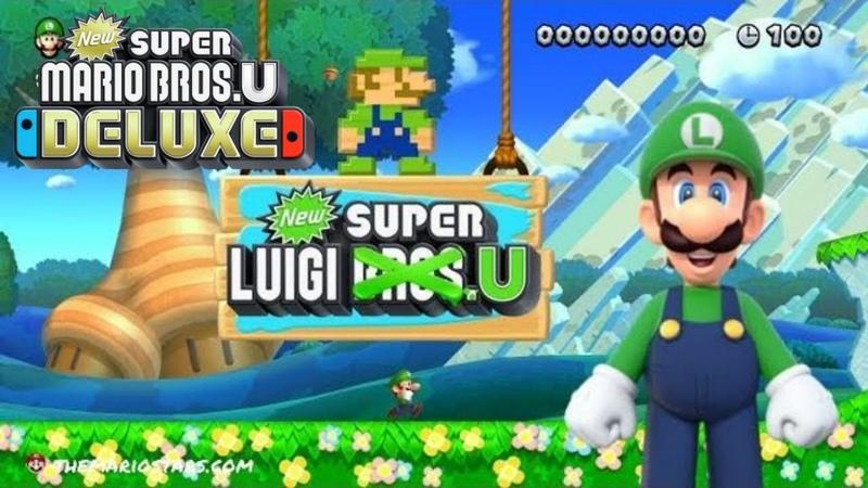 New Super Mario Bros U Deluxe - New Super Luigi U - Nintendo Switch