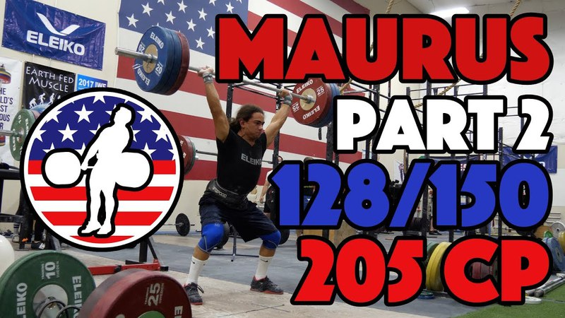 Harrison Maurus Part 211 Pre 2017 WWC Training 128150 205x2 CP [4k60]