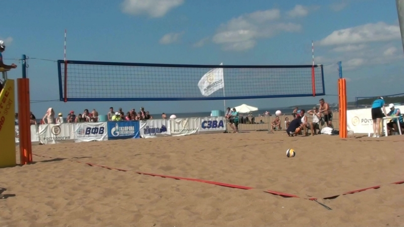 Beach volley Russia Solnechnoe 2018 M 14 SemiFinal Samoday-Myskiv and Semenov-Leshukov