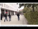 Antifa Runs Away from German Patriots in #Chemnitz, Germany