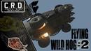 Crossout: [ Tusk Rocket booster x6 ] FLYING WILD HOG 2 [ver. 0.9.40]
