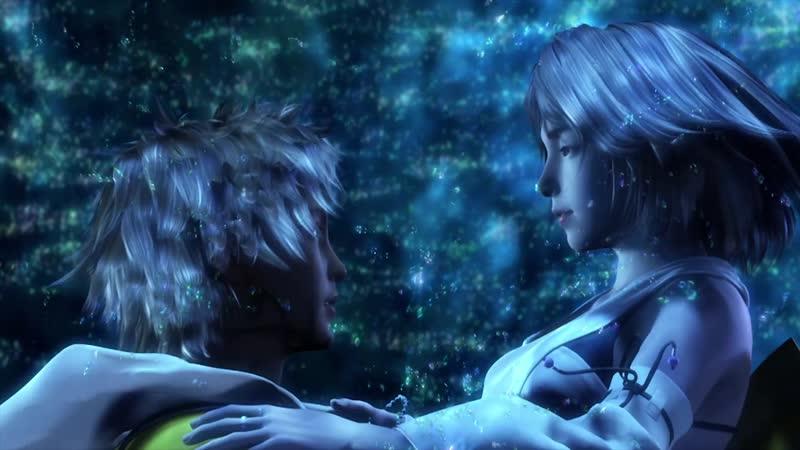 Final Fantasy X TidusYuna Kiss