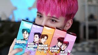 Trying these EXO Hair Color Treatments lol - Edward Avila
