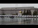 Обилие машин скорой помощи у администрации Иркутска