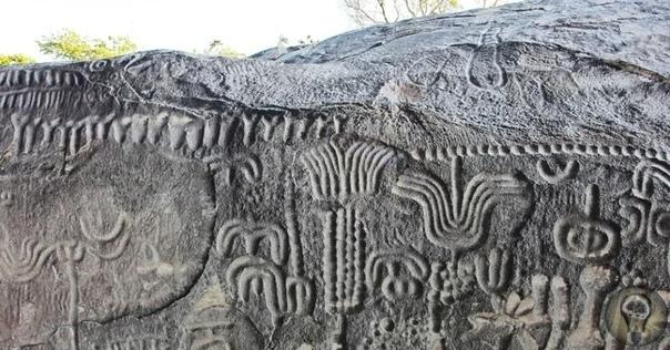 В Бразилии найден огромный камень, на котором 6000 лет назад изобразили карту звездного неба Массивный камень с древними изображениями найден в бразильском муниципалитете Инга, штат Параиба. По