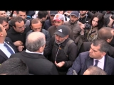 Акции протеста в Ереване против избрания премьером Сержа Саргсяна