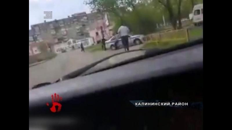 Он стал стрелять когда психопат пошел в атаку Как полиция открыла огонь по безумцу сняли на видео