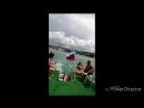 на море на карабле
