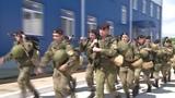 Тревога морпехи России учения морской пехоты черных беретов