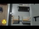 Сборка щита учета электроэнергии для установки на опору