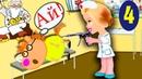 Мультики для детей. Прививка для Пони Пети.