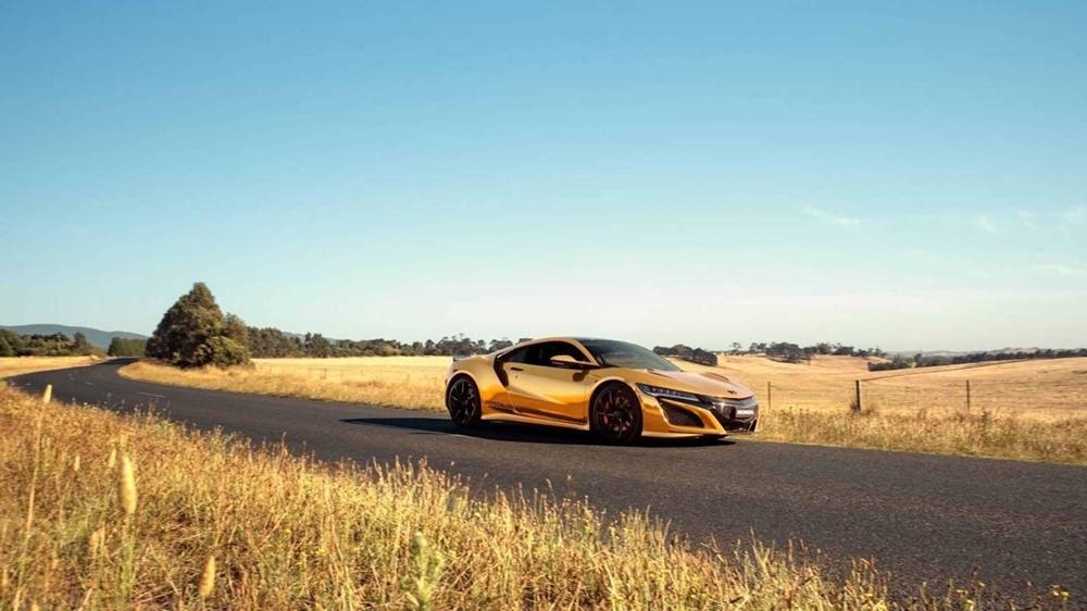 Австралийский отдел Honda представил золотую коллекцию в честь празднования 50-летия