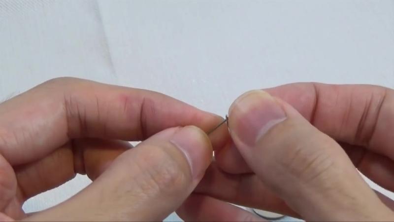 Making a double blade spinner lure _⁄ ダブルブレード仕上げのスピナールアーの作り方