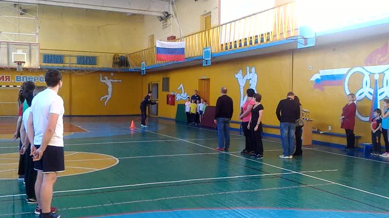 Самая спортивная семья ДЮСШ №25, открытие